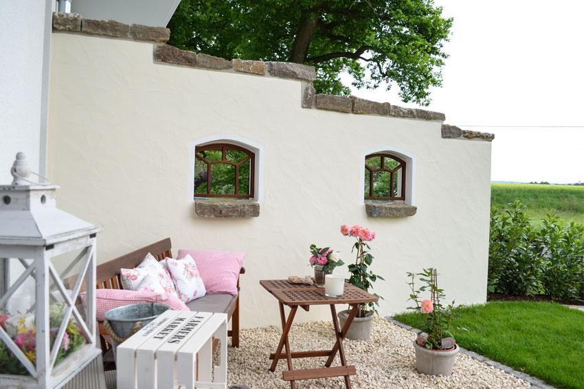 Schoener Garten In Bielefeld Design   Mauer Malermeister Düsterhöft